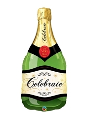 "39"" Celebrate Champagne Bottle Balloon"