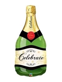"39"" Celebrate Champagne Bottle Balloon"