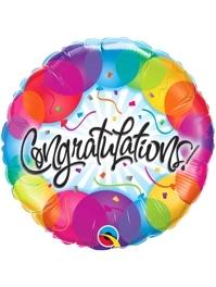 """18"""" Congratulations Balloons Balloon"""
