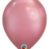 """11"""" Qualatex Chrome Mauve Latex Balloon"""