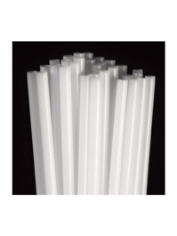 """16"""" White Balloon Sticks For Use WIth Mini Cups"""