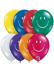 """5"""" Smiley Face Balloon Assortment"""