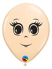 "5"" Blush Feminine Fase Balloon 100 Count"