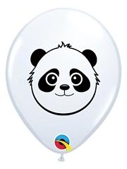 """5"""" Panda Bear Face Balloon 100 Count"""