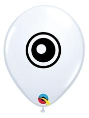 "5"" Eyeball Side Print Balloon 100 Count"
