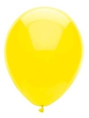 "11"" BSA Lemon Yellow Latex Balloon 100 Count."