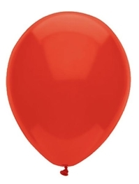 "11"" BSA Real Red Latex Balloon 100 Count"
