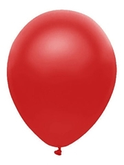 "11"" BSA Satin Red Latex Balloon 100 Count"