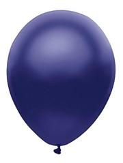 """11"""" BSA Satin Navy Latex Balloon 100 Count"""