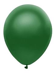 "11"" BSA Satin Forest Green Latex Balloon 100 Count."