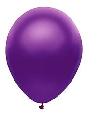 """11"""" BSA Satin Purple Latex Balloon 100 Count"""
