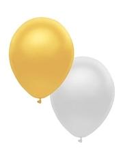 "11"" BSA Metallic Assortment Latex Balloon 100 Count."