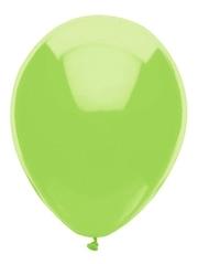 "11"" BSA Kiwi Lime Latex Balloon 100 Count."