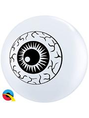 "5"" Top Print Eyeball Balloon 100 Count"