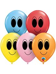 "5"" Google Eyes Balloon Assortment 100 Count"