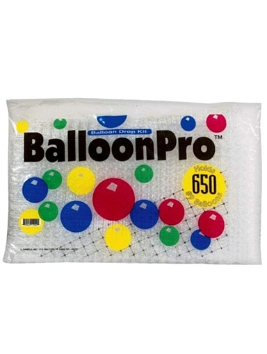 "Balloon Pro 650 Balloon Drop Kit. Holds 650 9"" Balloons"