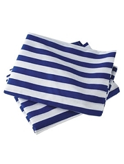 Blue Striped Helium Tank Cover