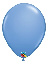 """11"""" Qualatex Periwinkle Latex Balloons 100 Count"""