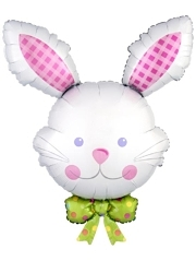 "34"" Happy Hop Bunny Easter Balloon"