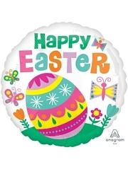 """17"""" Happy Easter Big Egg Balloon"""