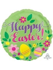 "17"" Happy Easter Grenn Balloon"