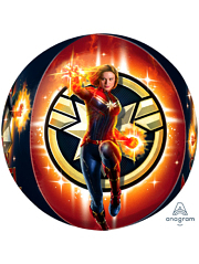 "16"" Captain Marvel Balloon Orbz For Sale"