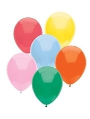 "BSA 11"" Standard Assortment Latex Balloons For Sale 100 Count"