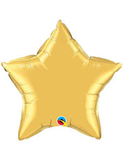 "Qualatex 36"" Foil Star Shape Decorator Balloons"