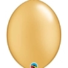 "12"" Gold Qualatex Quicklink Balloons 50 Count"