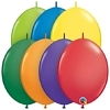 "Qualatex 12"" Carnival Assortment Quick Link Balloons"